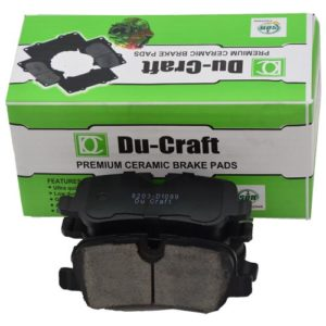 Du-Craft Genuine Premium Ceramic Brake Pads For Sale In Nigeria