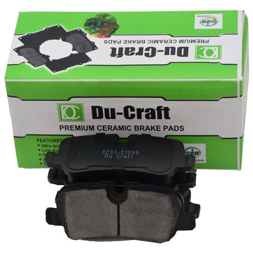 Du-Craft Genuine Premium Ceramic Brake Pads For Sale In Nigeria