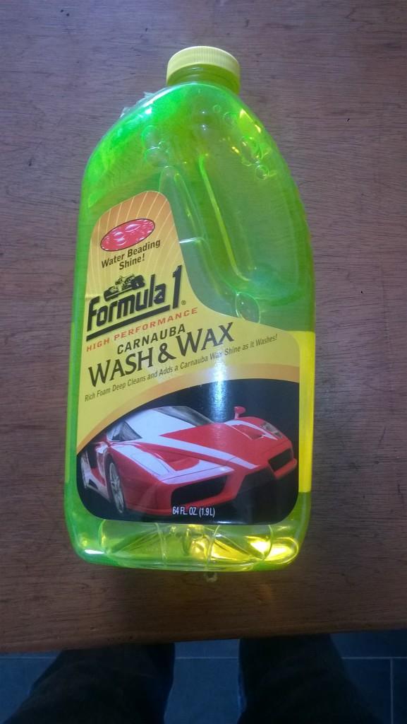 Formula One Carnauba Wash And Wax Car Wash (Medium Size ...